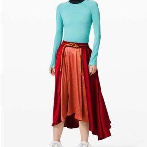 NWT Lululemon X Roksanda Face Forward Skirt